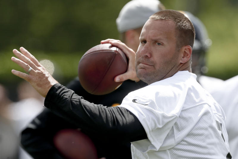"Steelers quarterback Ben Roehlisberger said publicly criticizing Antonio Brown ""ruined a friendship."" (AP)"
