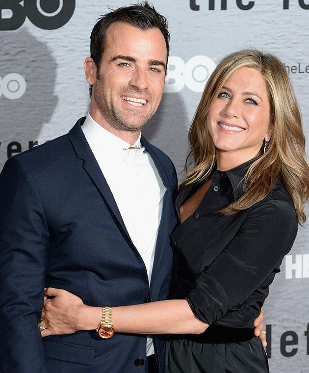Jen is now happily married to Justin Theroux. Source: Getty