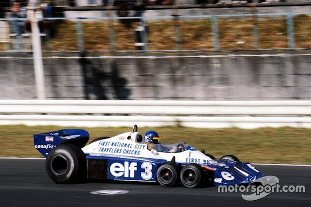 "Ronnie Peterson, Tyrrell P34 <span class=""copyright"">David Phipps</span>"