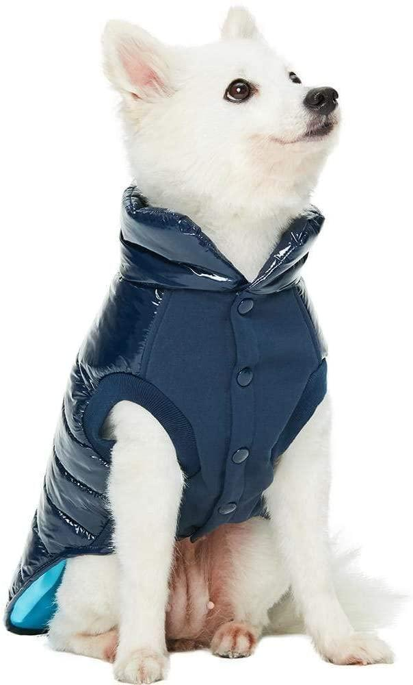 Blueberry Pet Cozy & Comfy Puffer - available on Amazon.