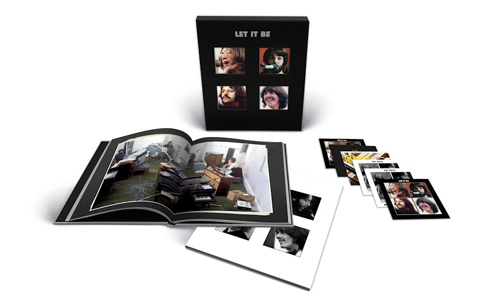 """The Beatles' """"Let It Be Special Edition"""" super deluxe edition with 5 CDs and one BluRay - Credit: Courtesy Apple"""