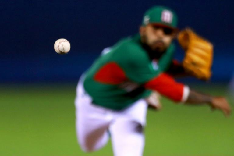 Sergio Romo of Mexico pitches in the bottom of the sixth inning during their World Baseball Classic Pool D game against Venezuela, at Panamericano Stadium in Zapopan, Mexico, on March 12, 2017