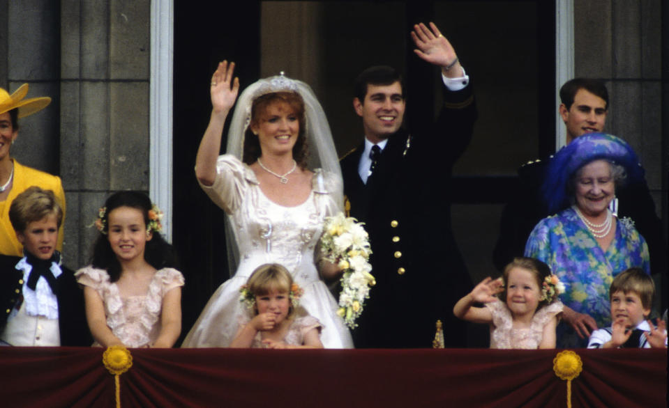 Sarah Ferguson and Prince Andrew tied the knot in 1986 [Photo: Getty]