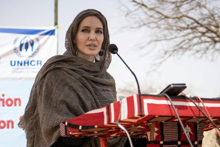 Angelina Jolie, who is a special envoy for the UNHCR, called for more support for countries such as Burkina Faso which take in refugees