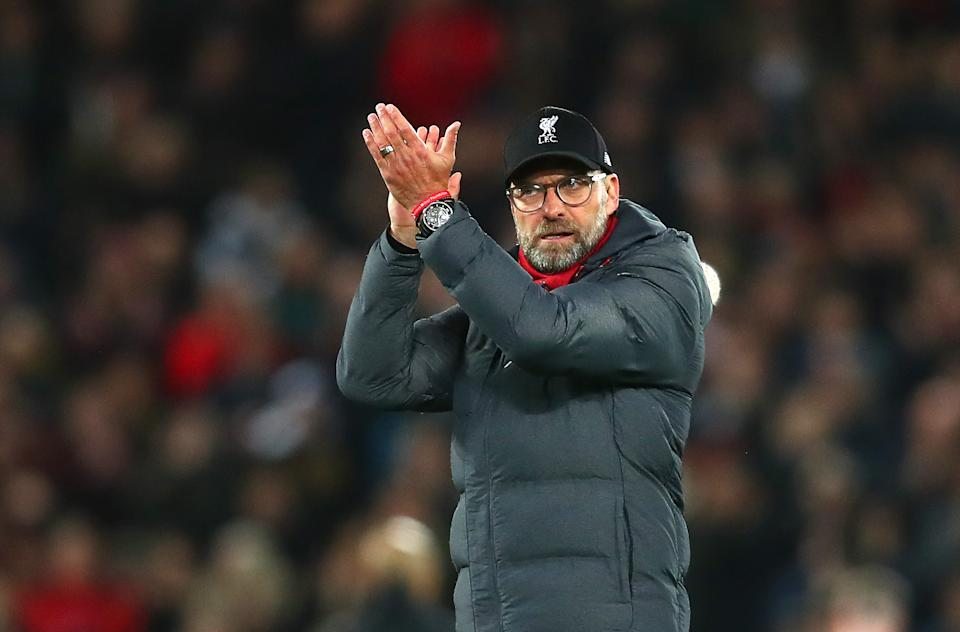 Jurgen Klopp and Liverpool exit the festive fixture pileup in even more convincing fashion than they entered. (Photo by Clive Brunskill/Getty Images)