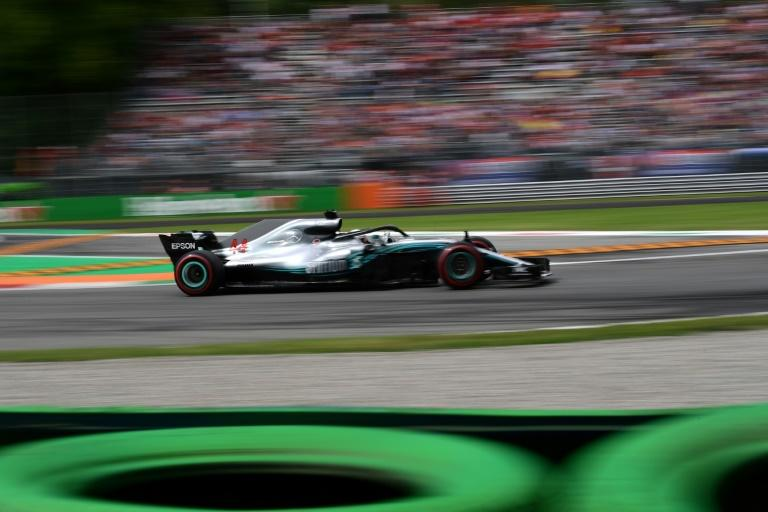 Lewis Hamilton and Mercedes were fast, but not as fast as Ferrari in qualifying at Monza