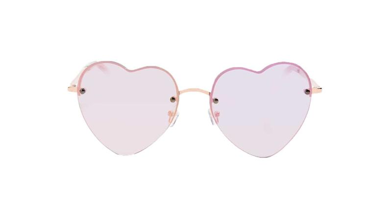 "<div>Because if you can't wear novelty sunglasses at a festival, when can you? Topshop Heart Frame Sunglasses, £16 from <a rel=""nofollow"" href=""http://www.topshop.com/en/tsuk/product/bags-accessories-1702216/sunglasses-468/heart-frame-sunglasses-6683667?bi=0&ps=20"">topshop.com</a> </div>"