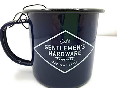 """<p><strong>Gentlemen's Hardware</strong></p><p>amazon.com</p><p><strong>14.00</strong></p><p><a href=""""http://www.amazon.com/dp/B00NWJR9NM/?tag=syn-yahoo-20&ascsubtag=%5Bartid%7C10050.g.23549426%5Bsrc%7Cyahoo-us"""" rel=""""nofollow noopener"""" target=""""_blank"""" data-ylk=""""slk:Shop Now"""" class=""""link rapid-noclick-resp"""">Shop Now</a></p><p>Another enamel beauty, this one features sleek calligraphy and a cream-colored exterior. It's the perfect gift for a more serious—but still adventurous—camper.</p>"""