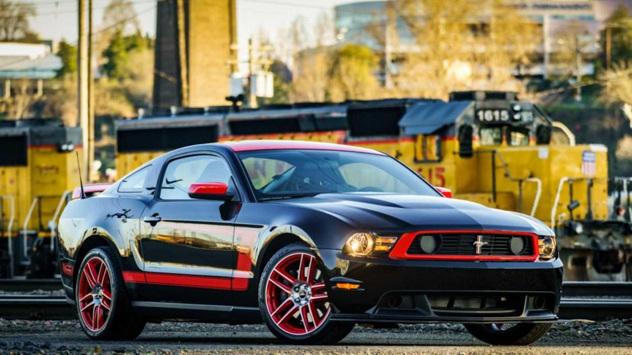 Ultra low mileage laguna seca mustang is up for auction