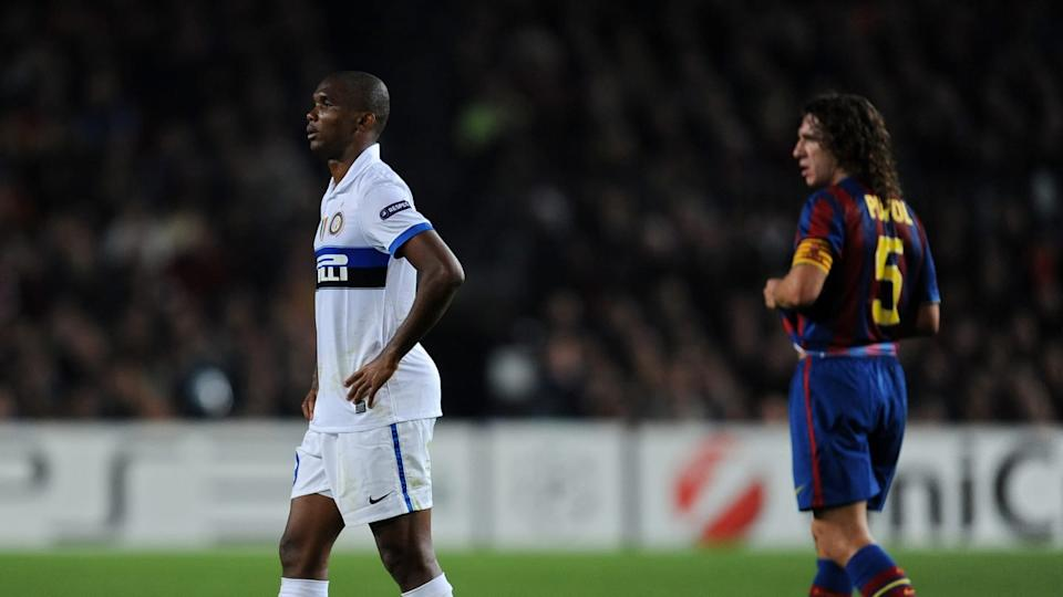 Samuel Eto'o regresó al Camp Nou | Jasper Juinen/Getty Images