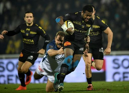 La Rochelle win bruising clash to go top in France rugby