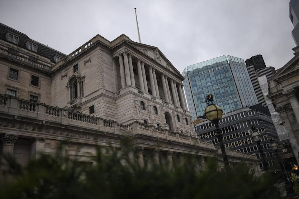 Bank Of England. Photo: Peter Summers/Getty Images