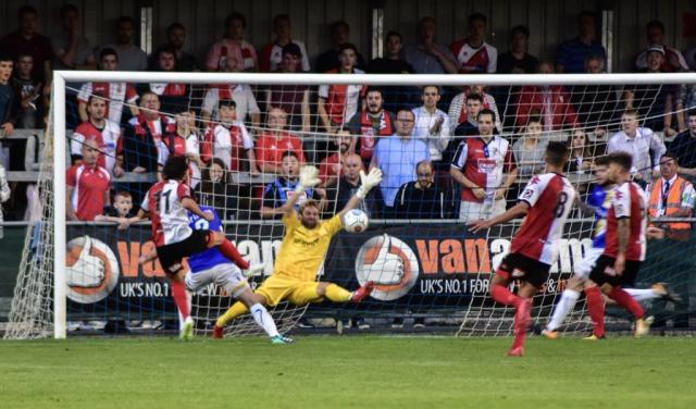 Woking lost 1-0 to Wealdstone in the Conference South