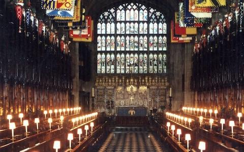St George's Chapel - Credit: Royal Collection
