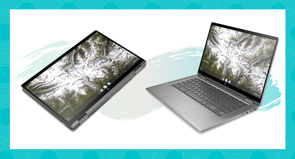 Take advantage of huge savings on this two-in-one touchscreen Chromebook.