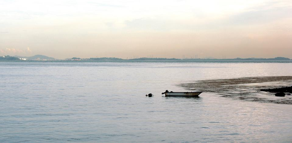 Sisters' islands on the south of Singapore's mainland.