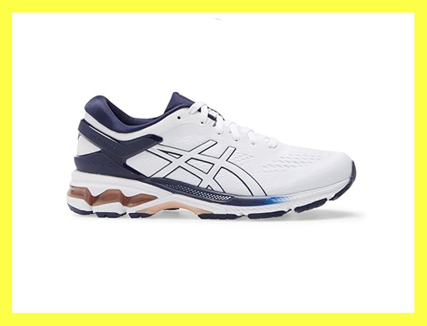 43 percent off a pair of classic white Asics? That's a dream of a deal. (Photo: Nordstrom Rack)