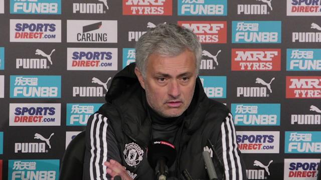 Manchester Utd boss Jose praises 'lucky' Newcastle after their 1-0 win lifted them out of the drop zone