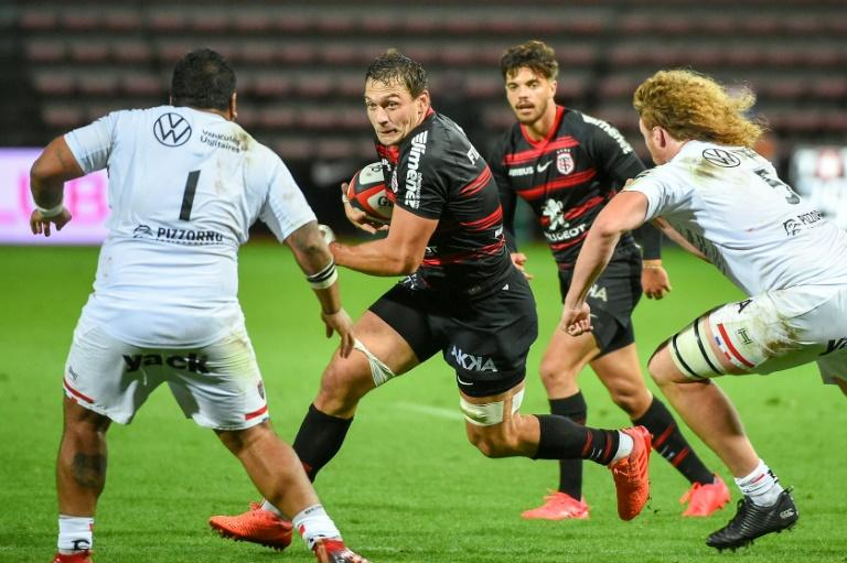 Springbok Elstadt's Toulouse 'not worried' about Racing 92 virus cases