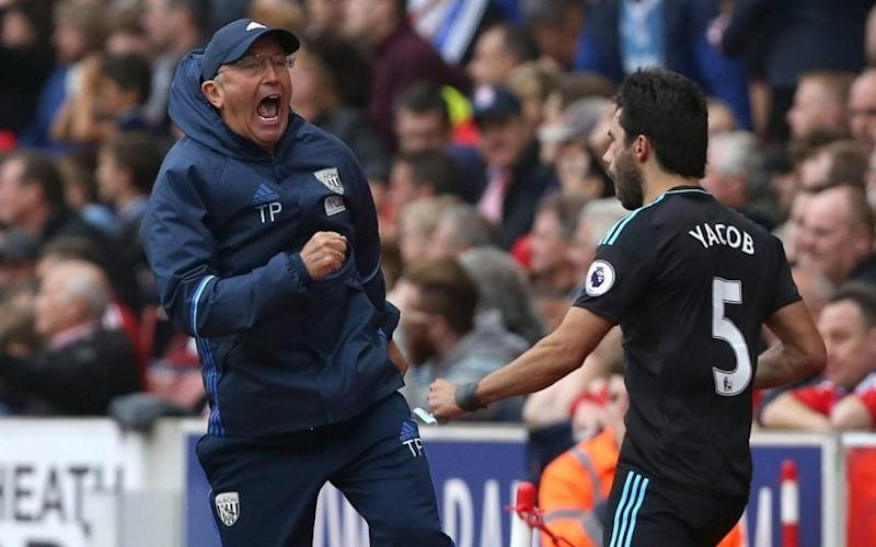 Tony Pulis - Why do Tony Pulis teams decline so dramatically after reaching 40 points? - Credit: REX FEATURES