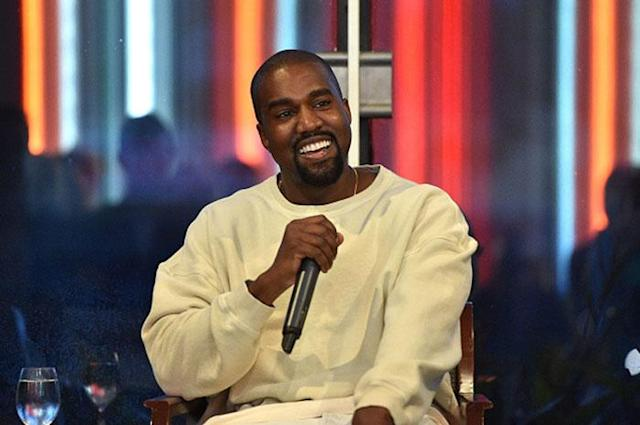 Kanye West, who signed a long-term design deal with Adidas in 2014. (Getty Images)