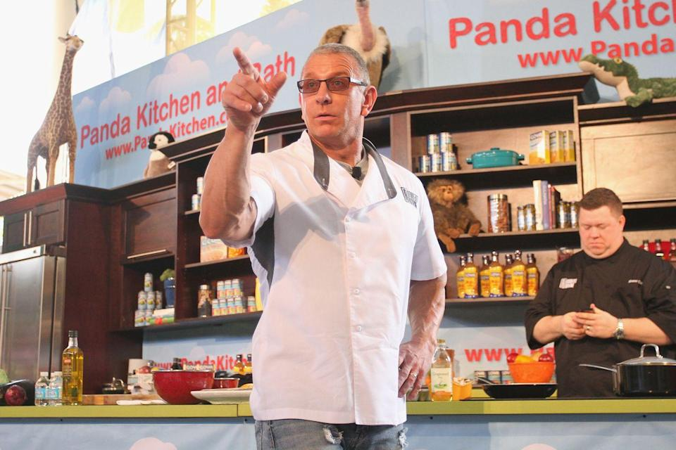 <p>Ex-naval chef Robert Irvine serves up plenty of tough love on <em>Restaurant: Impossible. </em>Viewers liked it so much that the Food Network gave him a second show called <em>Dinner: Impossible</em>. Trust us, it's just as entertaining.</p>
