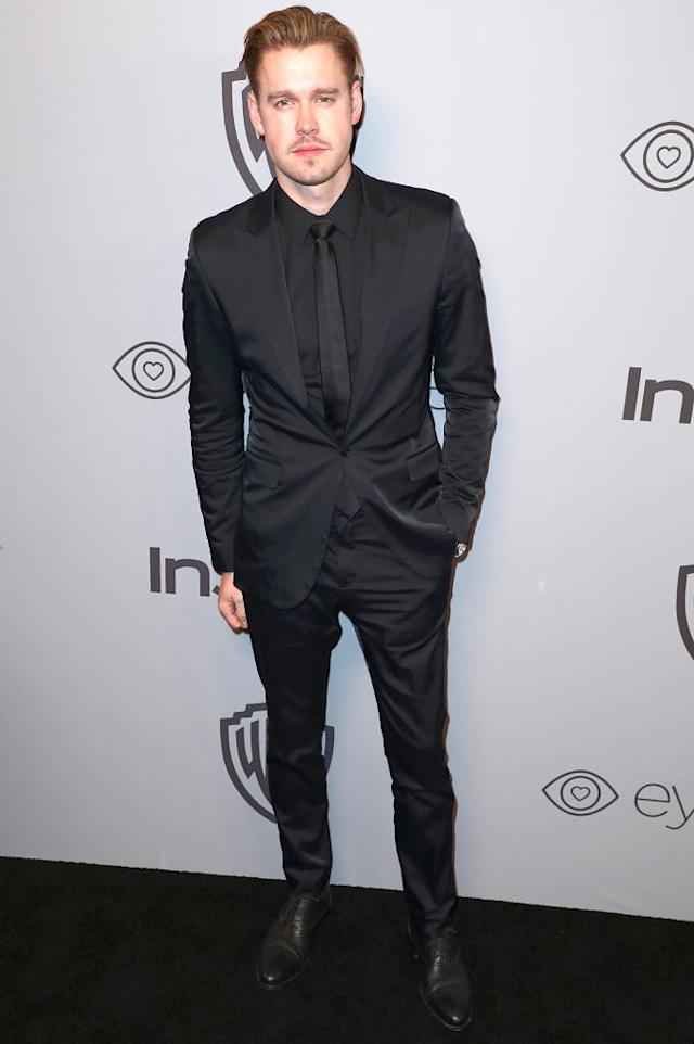 <p>Chord Overstreet attends the InStyle and Warner Bros. party at the Beverly Hilton Hotel. (Photo: Joe Scarnici/Getty Images for InStyle) </p>