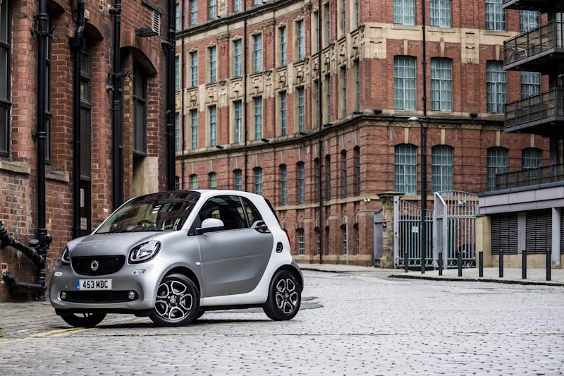 The Smart EQ fortwo is a fairly cheap electric city car (Smart)