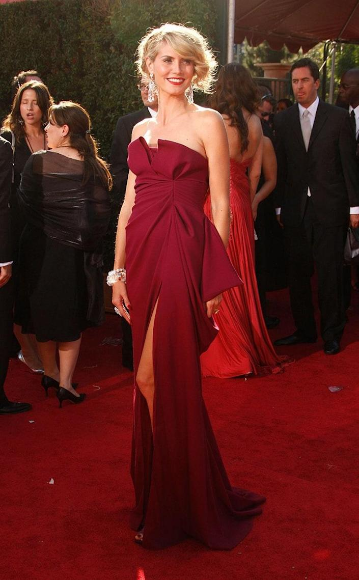 At the 59th Emmy Awards, September 2007
