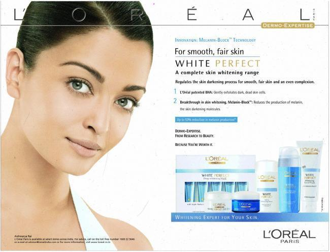 Aishwarya Rai famously went on Tyra Banks show, calling fairness creams racist and proclaiming that she will never endorse such products. However, the actress was the former face of L'Oreal's White Perfect range of creams, before they moved on to the younger Sonam Kapoor. Lux had also roped the former Miss World in for their Lux Sunscreen formula soap, which was meant to protect the skin's fairness, back in 2000.
