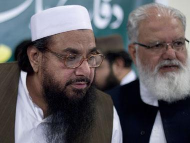 File photo of Hafeez Saeed. AP