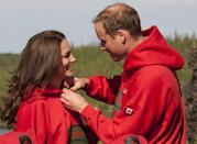 "<p>It was the first vacation for Prince William and Kate as newlyweds, and the photos did not disappoint. The couple went on <a href=""https://www.dailymail.co.uk/news/article-2011577/Canada-royal-visit-Kate-Middleton-Prince-William-wow-Northwest-Territories.html"" rel=""nofollow noopener"" target=""_blank"" data-ylk=""slk:a canoe ride"" class=""link rapid-noclick-resp"">a canoe ride </a>together, learned about leather making, and had this cute moment.</p>"