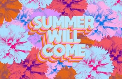 Just one of the Summer Will Come posters designed by Tyler Spangler in conjunction with Clear Channel UK and Atomic London, 2500 Summer Will Come posters can currently be seen up and down the UK.