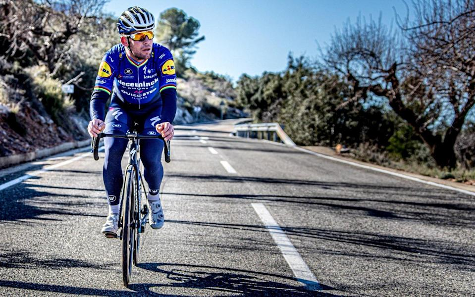 Mark Cavendish insists he is a realist and not living in a fairytale land on his return to Deceuninck-Quick Step - WOUT BEEL/DECEUNINCK-QUICK STEP