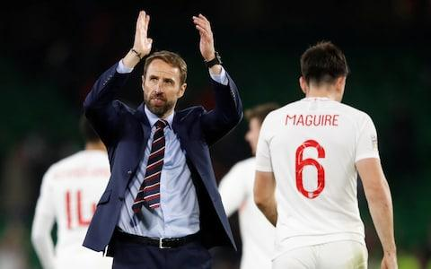 <span>Gareth Southgate is hoping to guide England to a rare major trophy</span> <span>Credit: reuters </span>