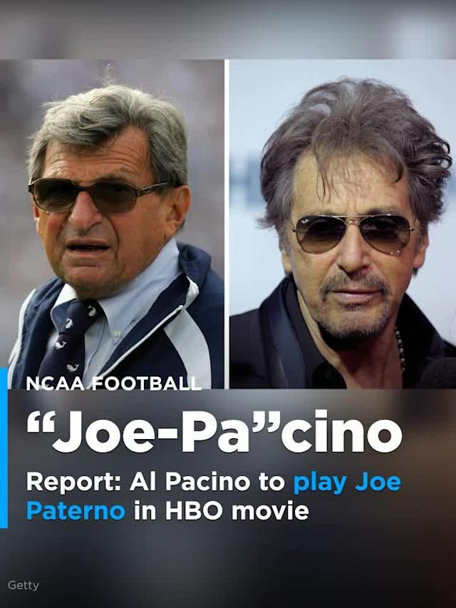 Al Pacino is set to play Joe Paterno in an HBO movie about the Jerry Sandusky's sex abuse scandal.