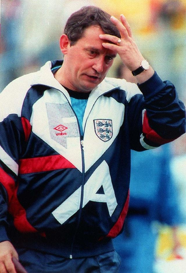 Graham Taylor's England were held by the Danes in their Euro 92 opener (PA).