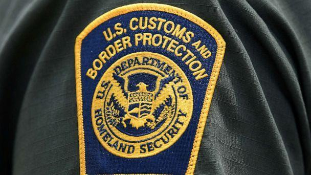 PHOTO: In this July 1, 2019, file photo, a U.S. Customs and Border Protection patch is seen on the arm of a U.S. Border Patrol agent in Mission, Texas. (Loren Elliott/Reuters, FILE)
