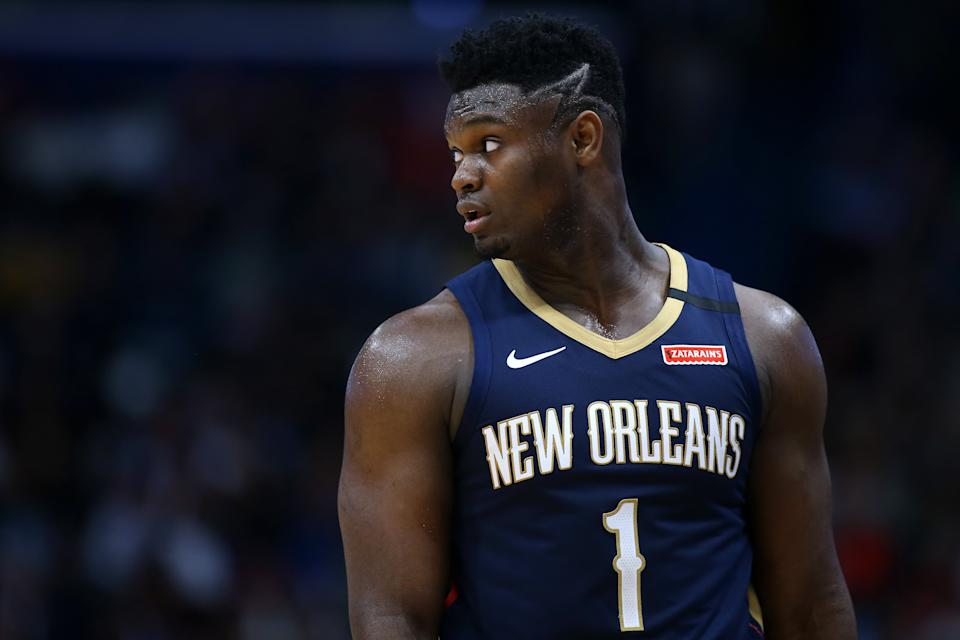Zion Williamson changed the Pelicans in a way few rookies in NBA history could have. (Jonathan Bachman/Getty Images)