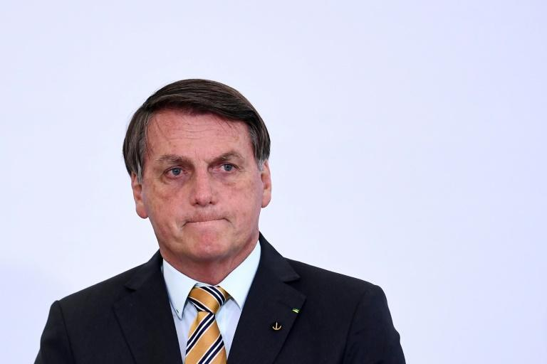A criminal case against Brazilian President Jair Bolsonaro before the Supreme Court risks damaging him politically at a time when his support is dwindling