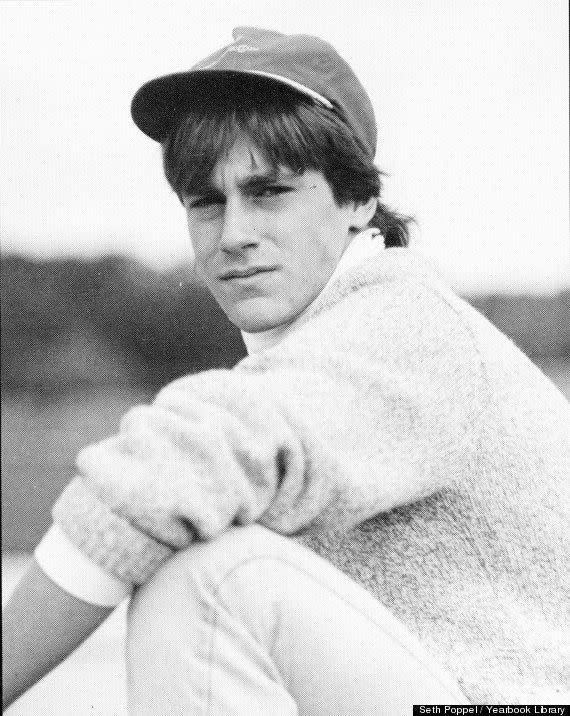 Decidedly more nerdy, but still with a sultry gaze, Jon Hamm was a hunk-in-the-making in his high school yearbook.