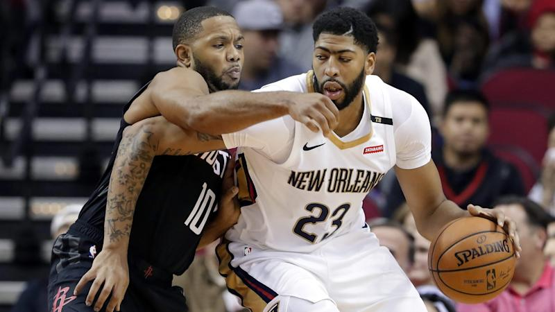 Anthony Davis and the Pelicans beat the Rockets