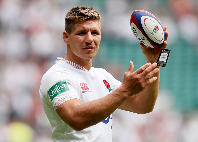 England's Francis out of training camp after COVID-19 positive