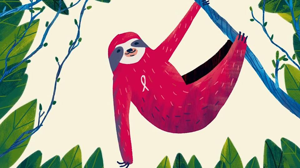 Animated image of a sloth