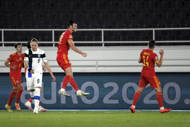 Finland Wales Nations League Soccer