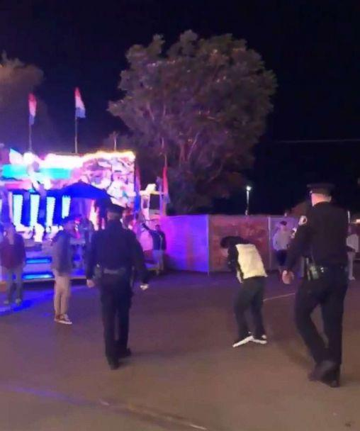 "PHOTO: Police said a video showed an officer ""using force while effecting an arrest"" at the Central Washington State Fair in Yakima, Washington. (Jasmin Hernandez Cervera)"