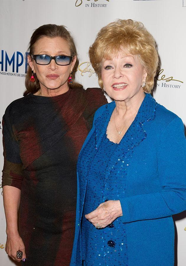 Debbie and her daughter Carrie passed away within a day of each other. Source: Getty.