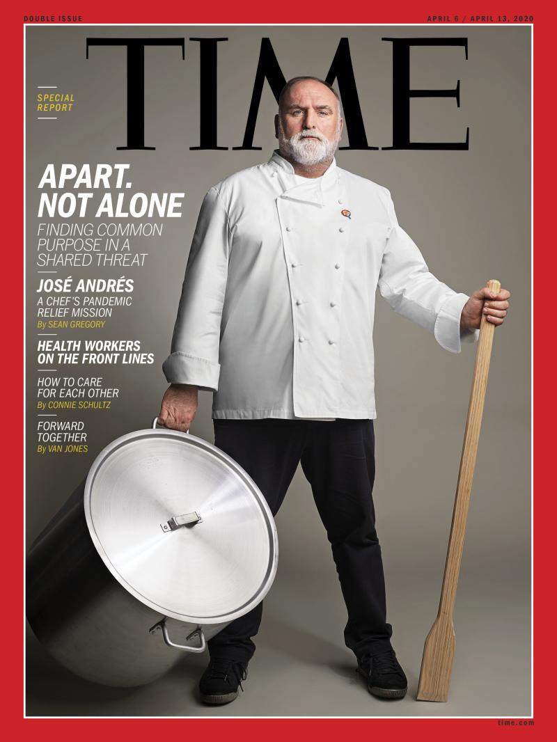 TIME Publishes a Special Report on Finding Common Purpose in a Shared Threat: Apart. Not Alone