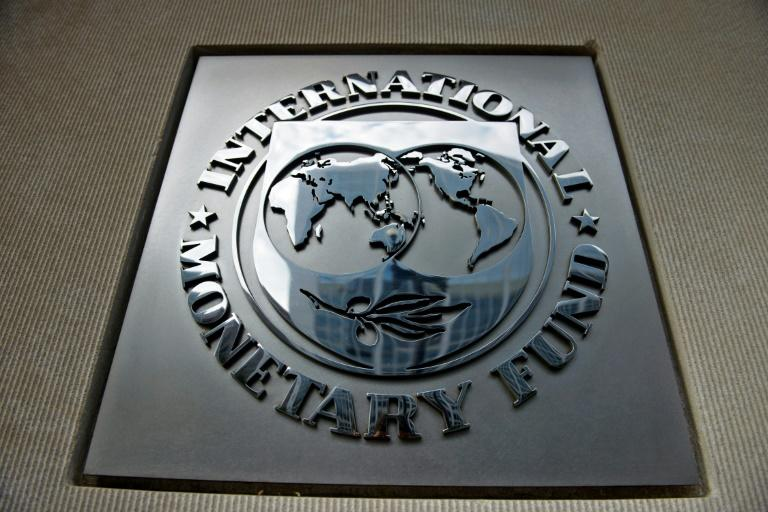 """The International Monetary Fund said it will """"continue to stand with Argentina during these challenging times"""" (AFP Photo/Brendan SMIALOWSKI)"""