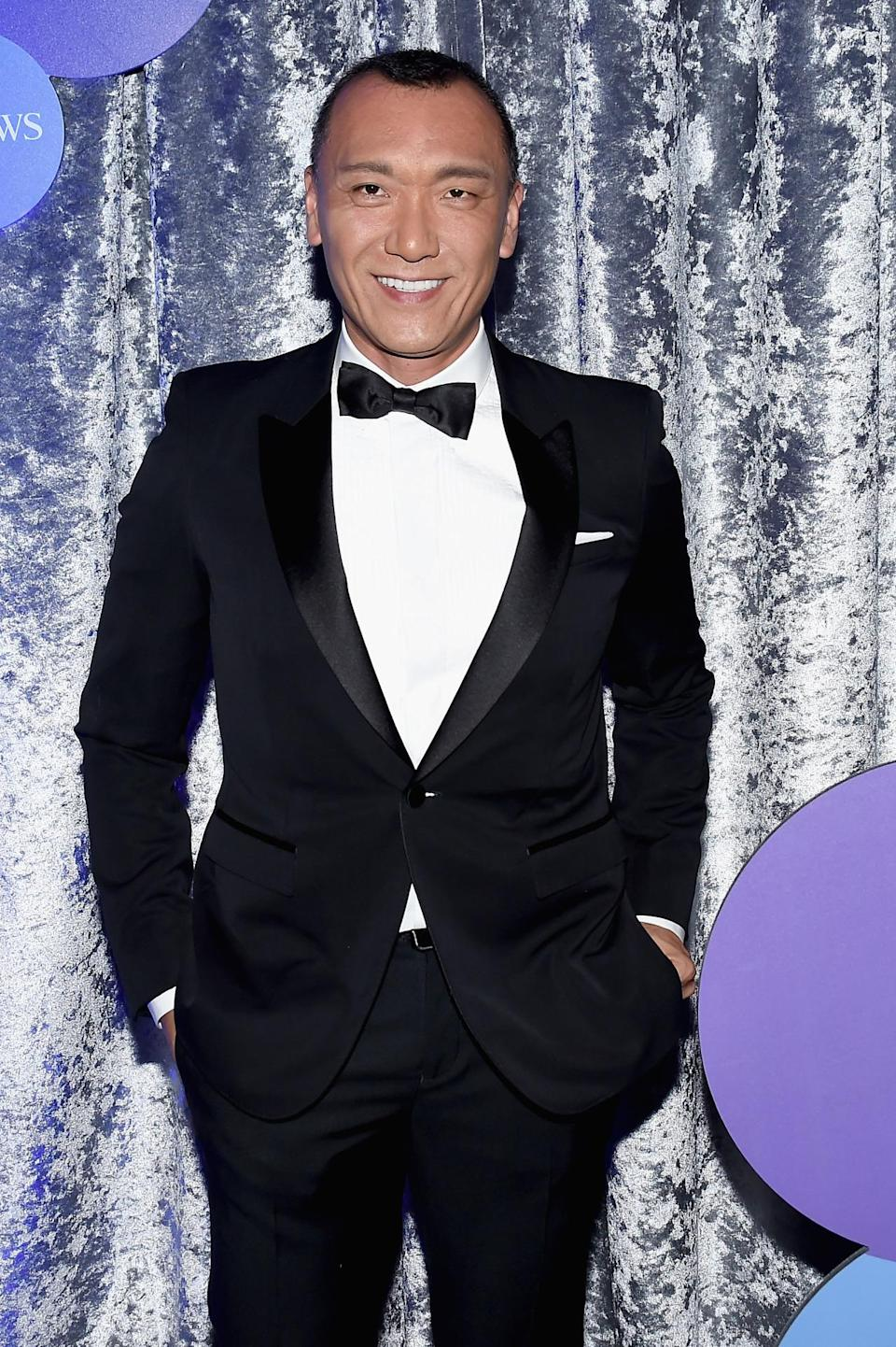 <p>Journalist Joe Zee attends the Yahoo News/ABC News White House Correspondents' Dinner pre-party at the Washington Hilton, April 30. <i>(Photo: Nicholas Hunt/Getty Images for Yahoo)</i></p>